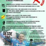CAMPUS CIUDAD DE ALCOY «JORGE MOLINA» semana de Primavera